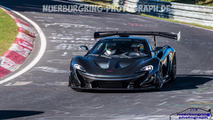 McLaren P1 LM at the Nurburgring