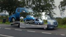 Nissan Navara kırık şasi