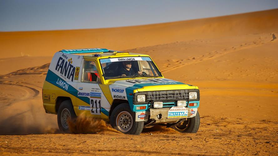 Nissan Patrol Dakar aracı restore edildi