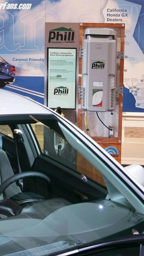 2006 Honda Civic GX to Make Public Debut at LA Auto Show