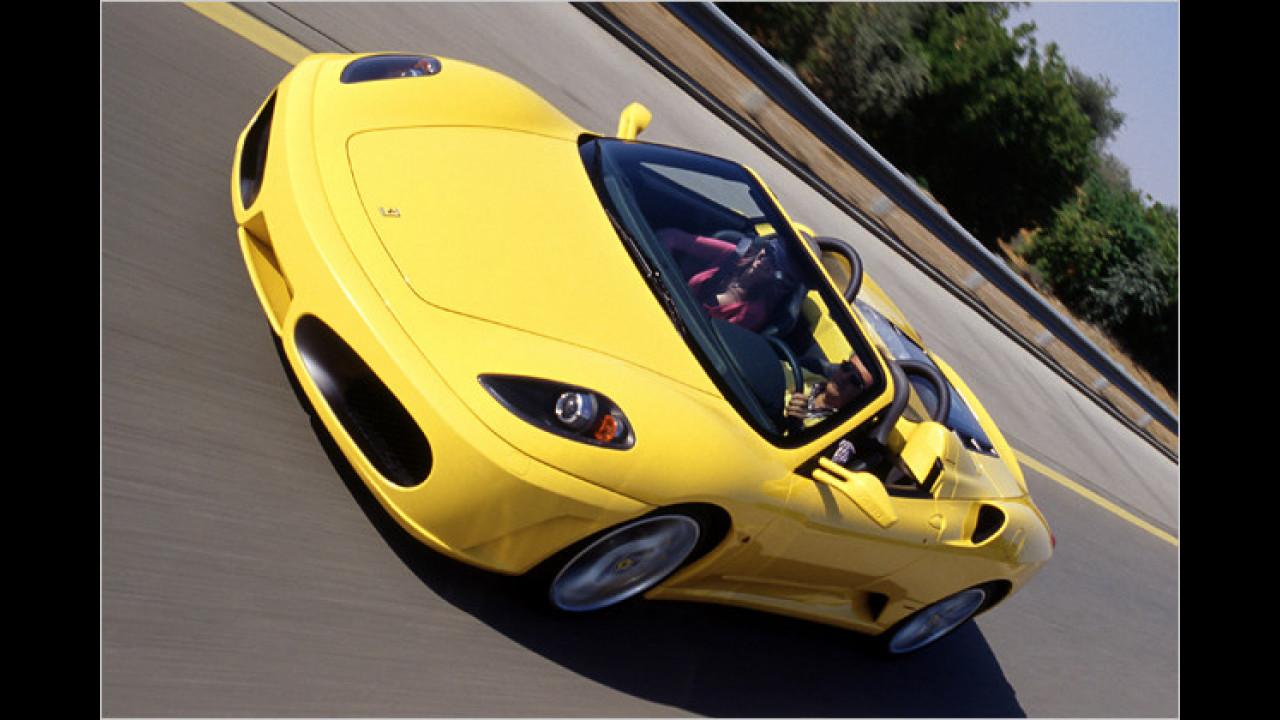 Ferrari 430 Spider F1-Schaltung