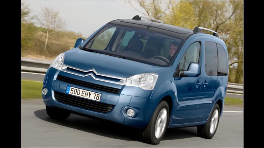 Citroën: Diesel-Berlingo und Benziner-Nemo nun sparsamer