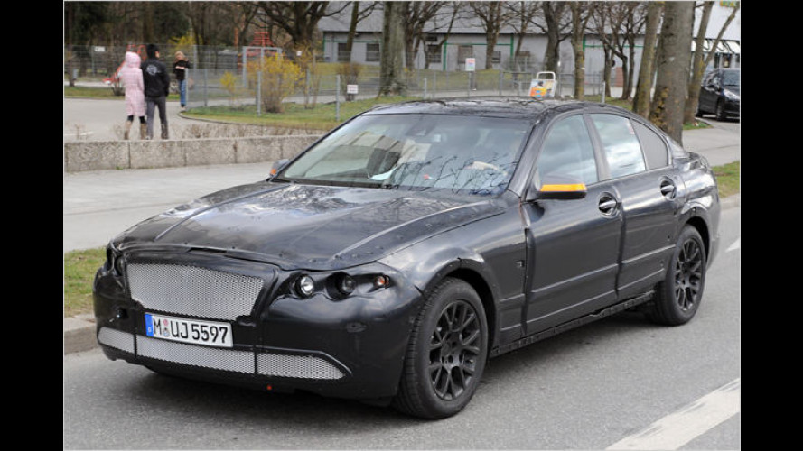 Erlkönig ertappt: Neue Generation des BMW 5er