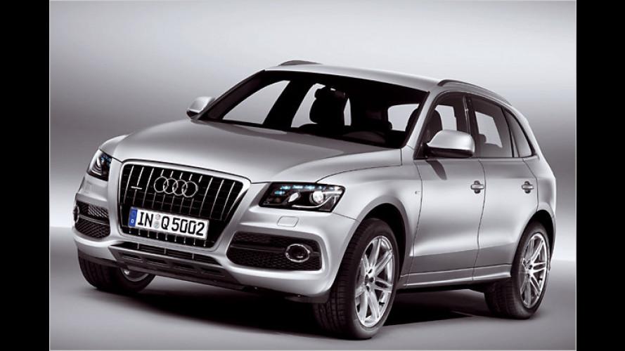 Diskrete Sportlichkeit: S-Line-Paket für den neuen Audi Q5