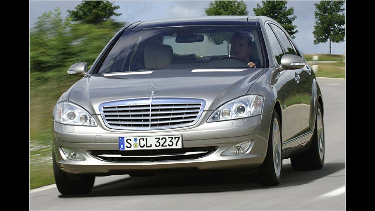 Mercedes S 320 CDI BlueEfficiency 7G-Tronic