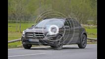 Mercedes GLB, le foto spia