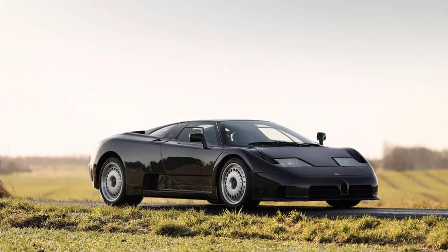Bugatti EB110 GT'nin açık artırmada 950 bin $'a satılması bekleniyor