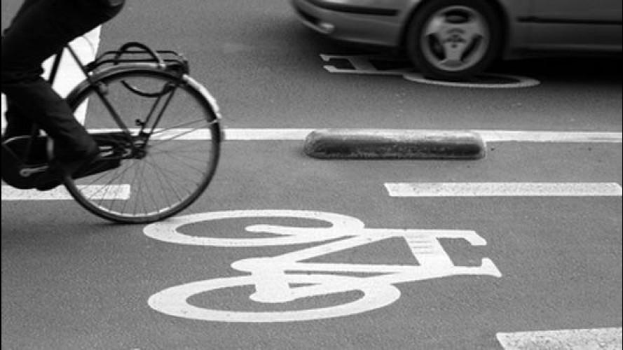 Chi guida l'auto perde di vista bici e moto