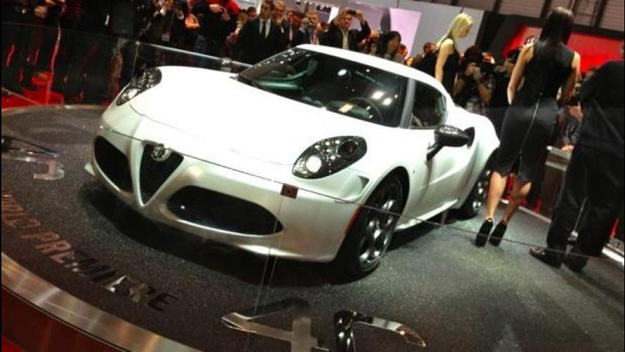 Alfa Romeo 4C: al Salone di Ginevra torna la
