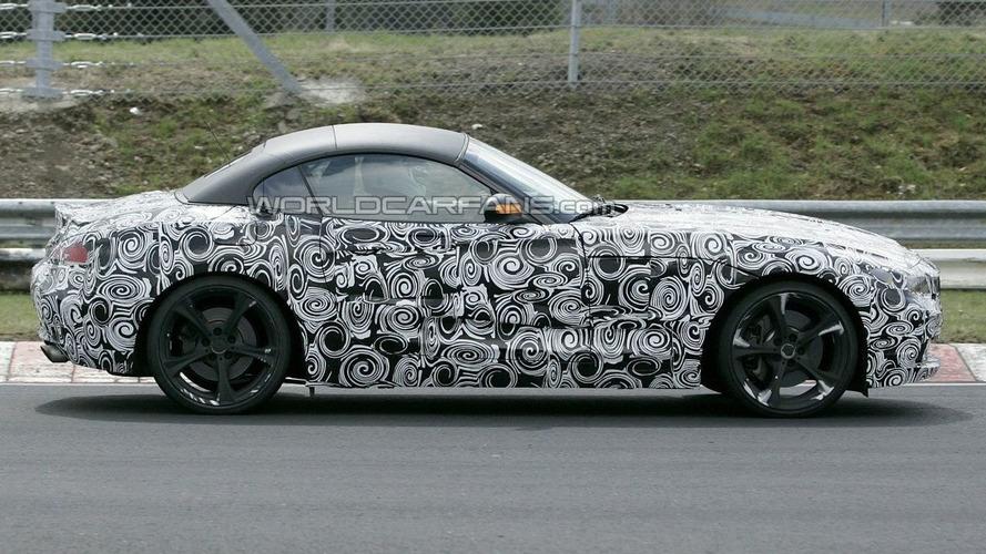 New BMW Z4 Spied Again
