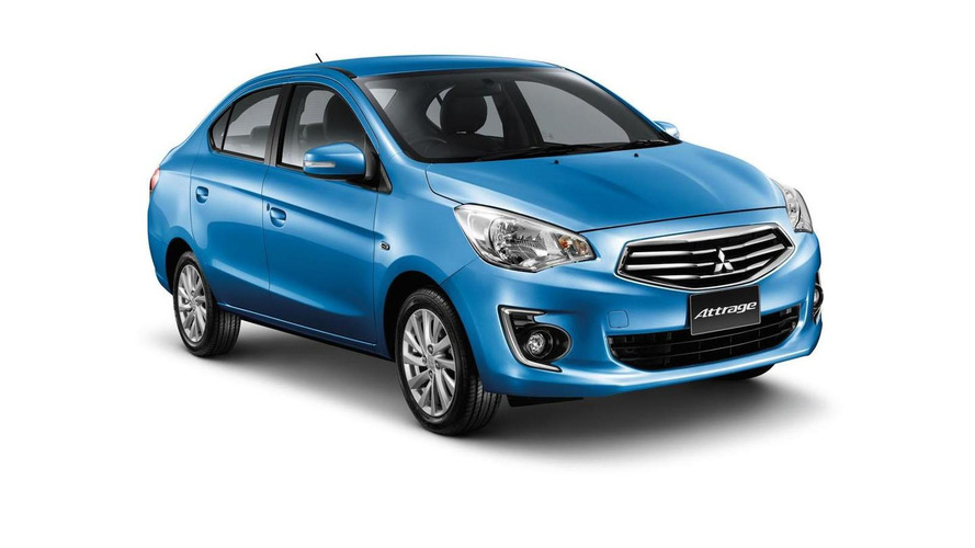 2014 Mitsubishi Attrage revealed