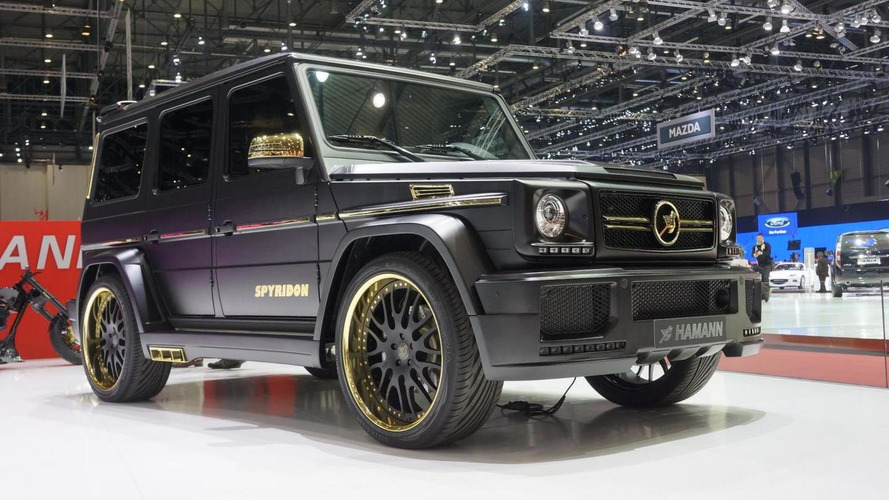 Mercedes-Benz G65 AMG Spyridon by Hamann shown in Geneva
