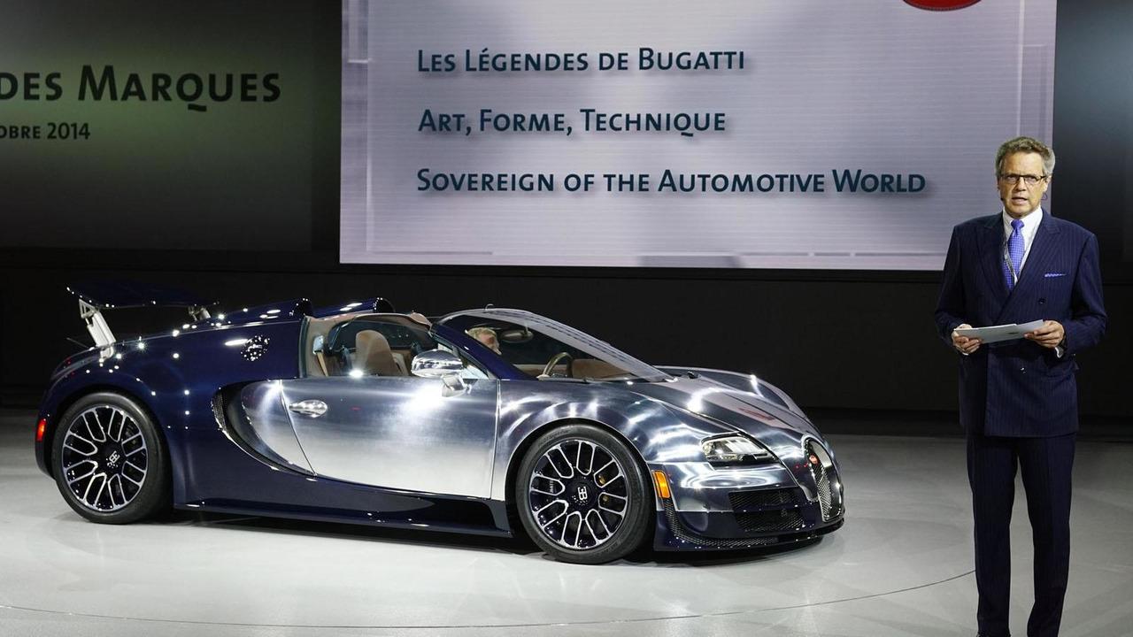 Bugatti Veyron Ettore Bugatti special edition live in Paris