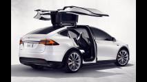 Tesla Model X, prezzi e foto del SUV elettrico