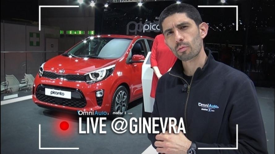 Ginevra, nuova Kia Picanto è la citycar di un certo livello [VIDEO]
