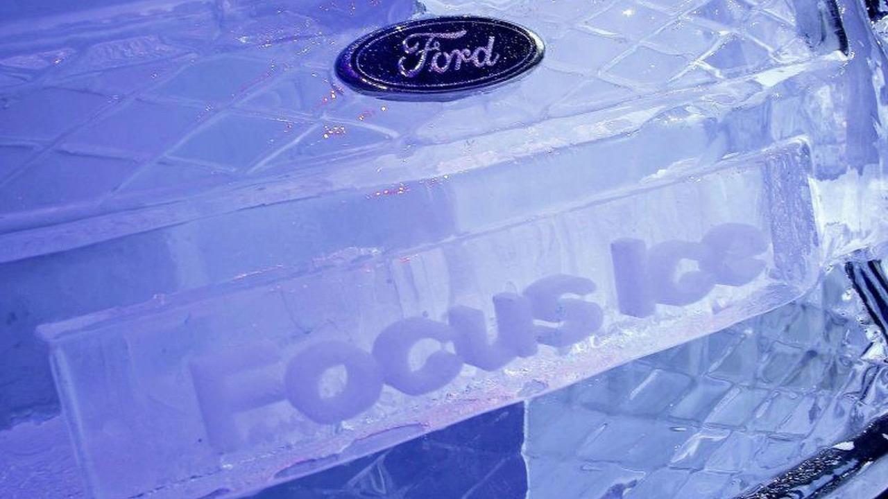 Ford Focus Ice Sculpture