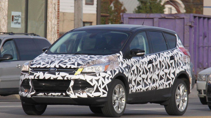 2013 Ford Kuga/Escape spied less disguised in the U.S.