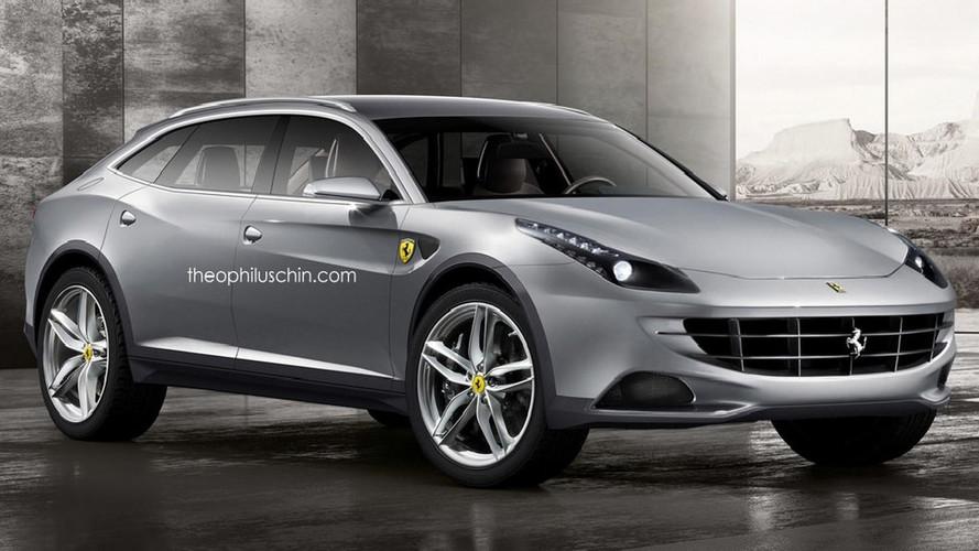 El SUV de Ferrari podría llegar en 2021