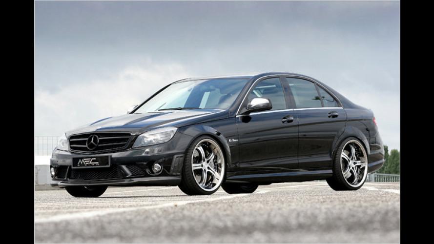 Killer-C: 600 PS in aufgemotzter Mercedes-Mittelklasse