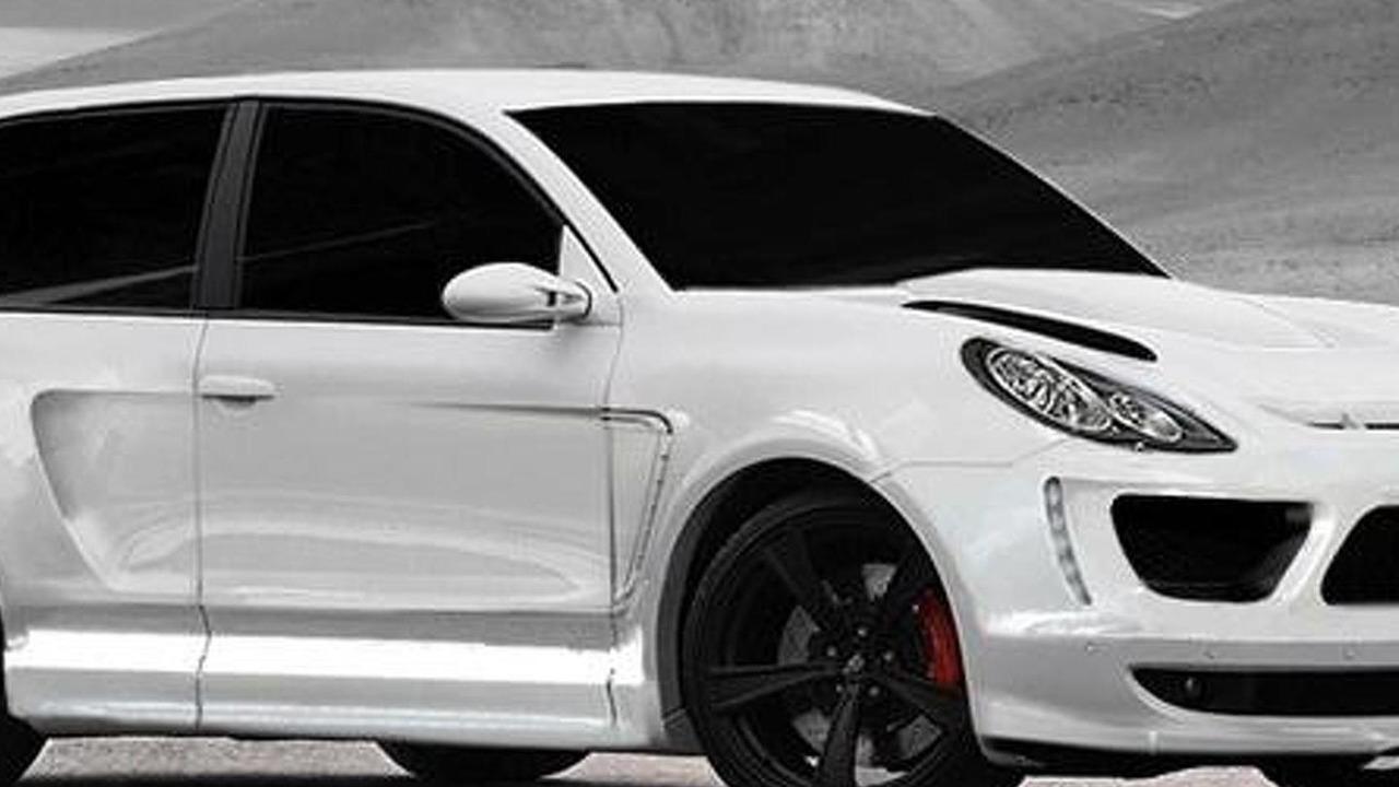 Two-door Porsche Cayenne Turbo by Merdad
