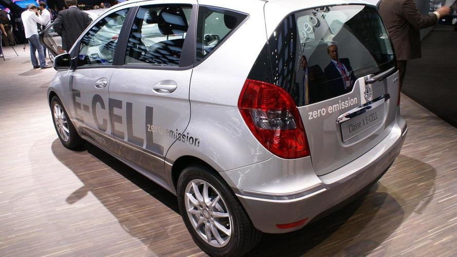 Mercedes A-Class E-CELL world premiere in Paris