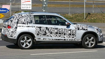 BMW X1 spy photo