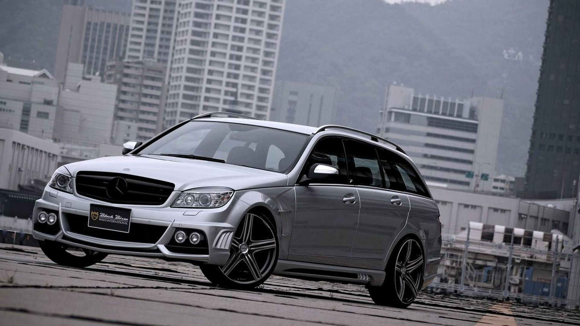 Black bison edition tuning package for the w204 mercedes benz c class - Wald Sports Line Black Bison Editions For Mercedes C Class Wagon R Class