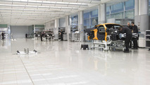McLaren Technology Centre, Woki, England, MP4-12C production, 18.03.2010