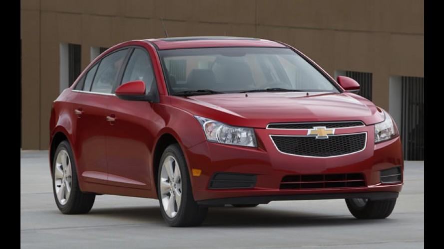 Demanda em queda: GM paralisará produção do Cruze nos EUA