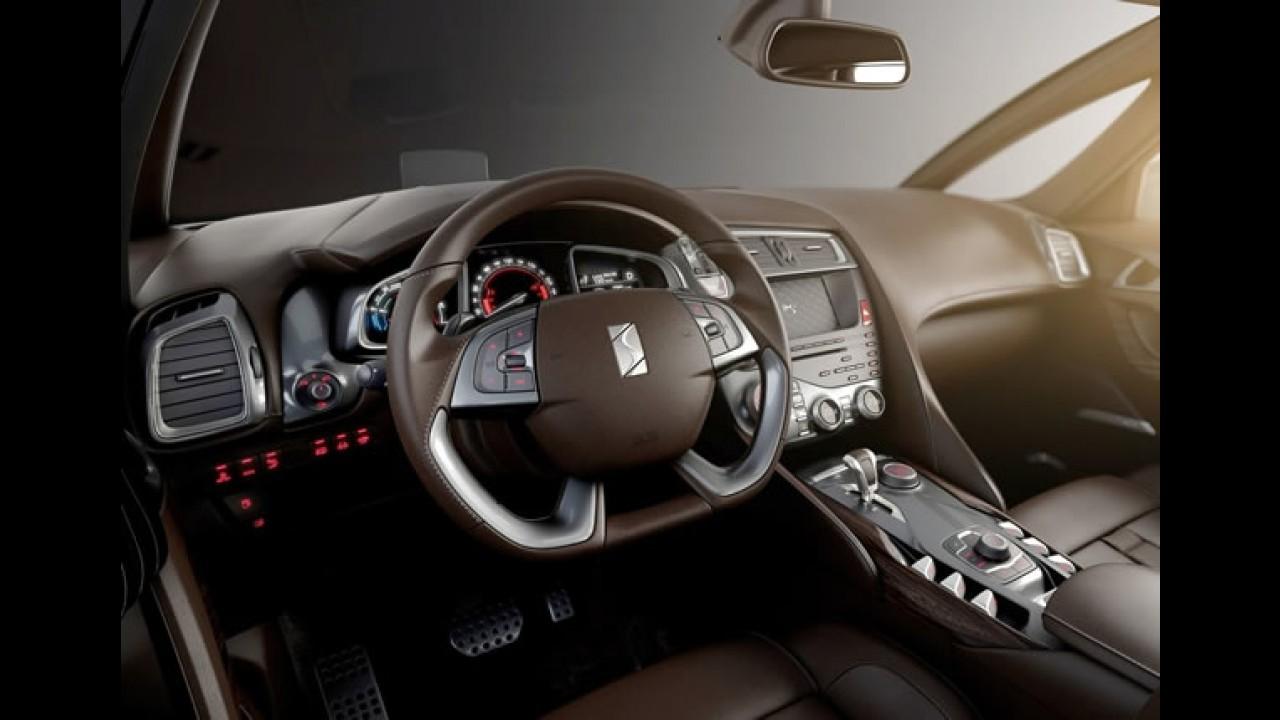 Novo Citroën DS5 2012: um hatchback com jeito e tamanho de crossover