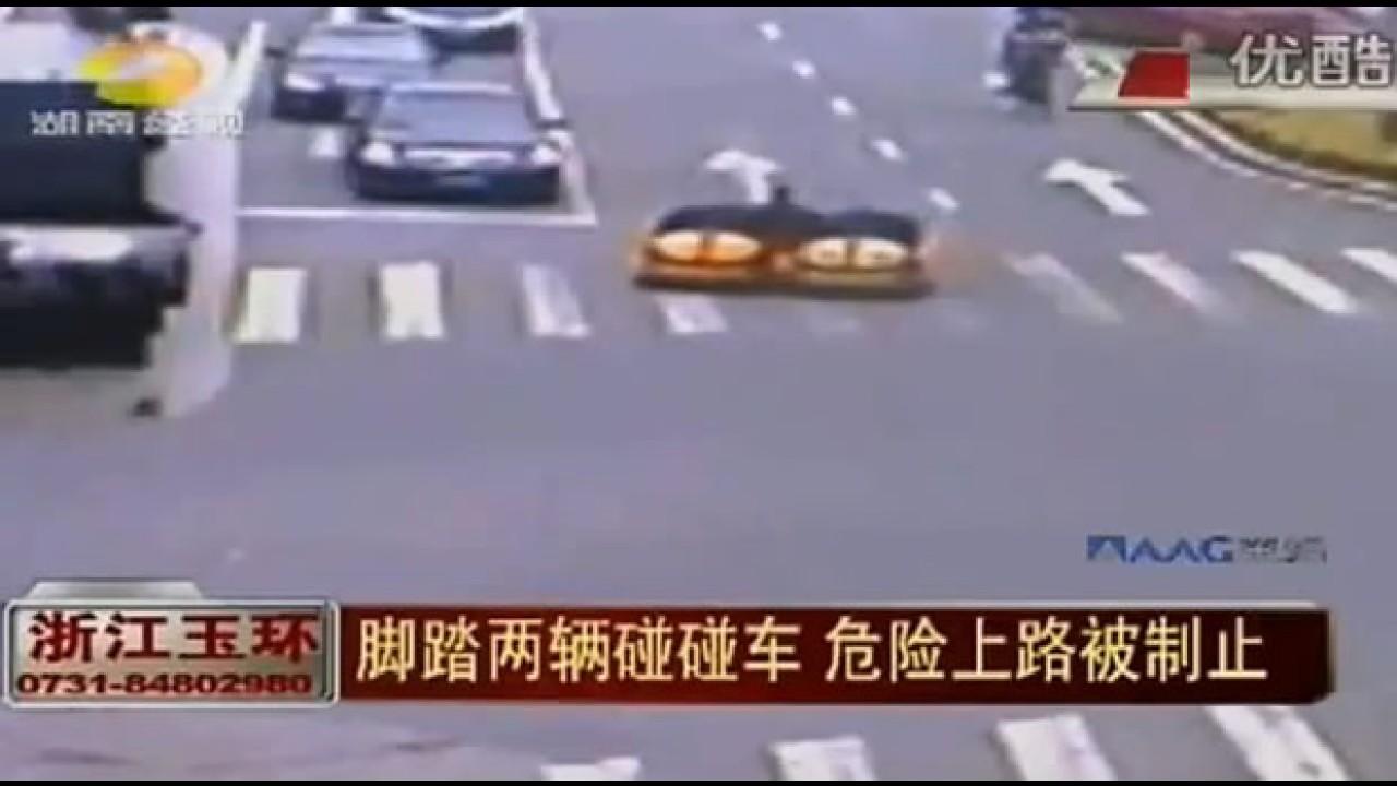 Autoridades chinesas optam por solução radical para educar motoristas