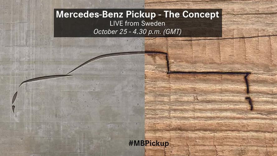 Önümüzdeki hafta tanıtılacak Mercedes-Benz pickup modeli, hâlâ bir konsept