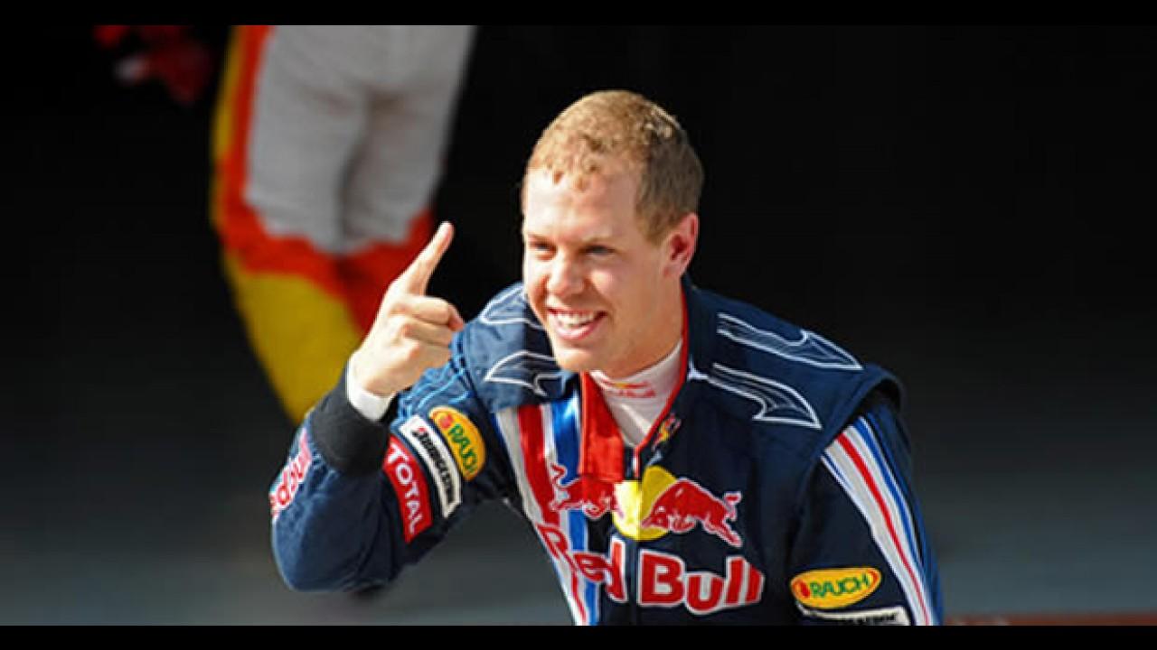 Fórmula 1: Vettel larga na pole position no Bahrein - Massa larga em 2° e Barrichello em 11°