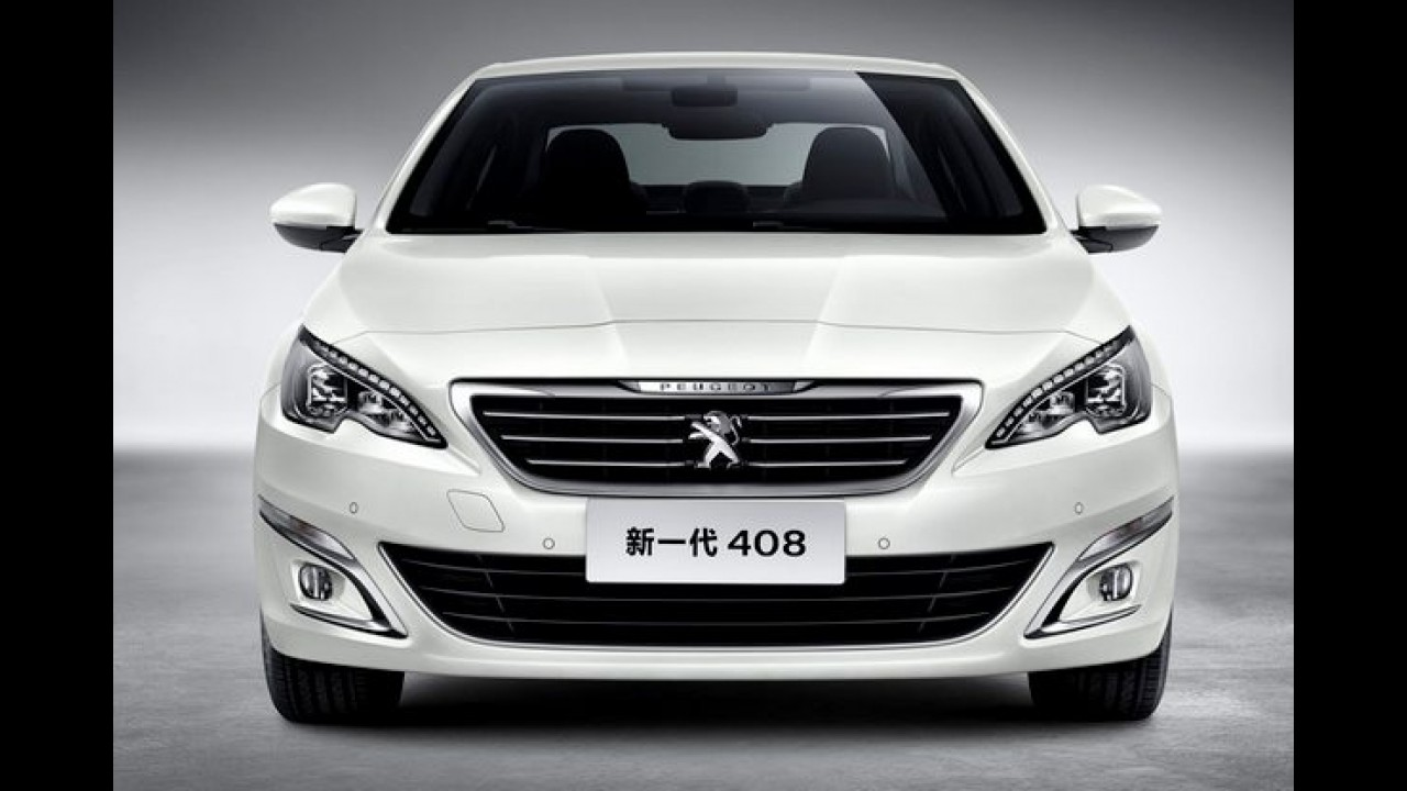 Novo Peugeot 408 tem as primeiras fotos oficiais divulgadas