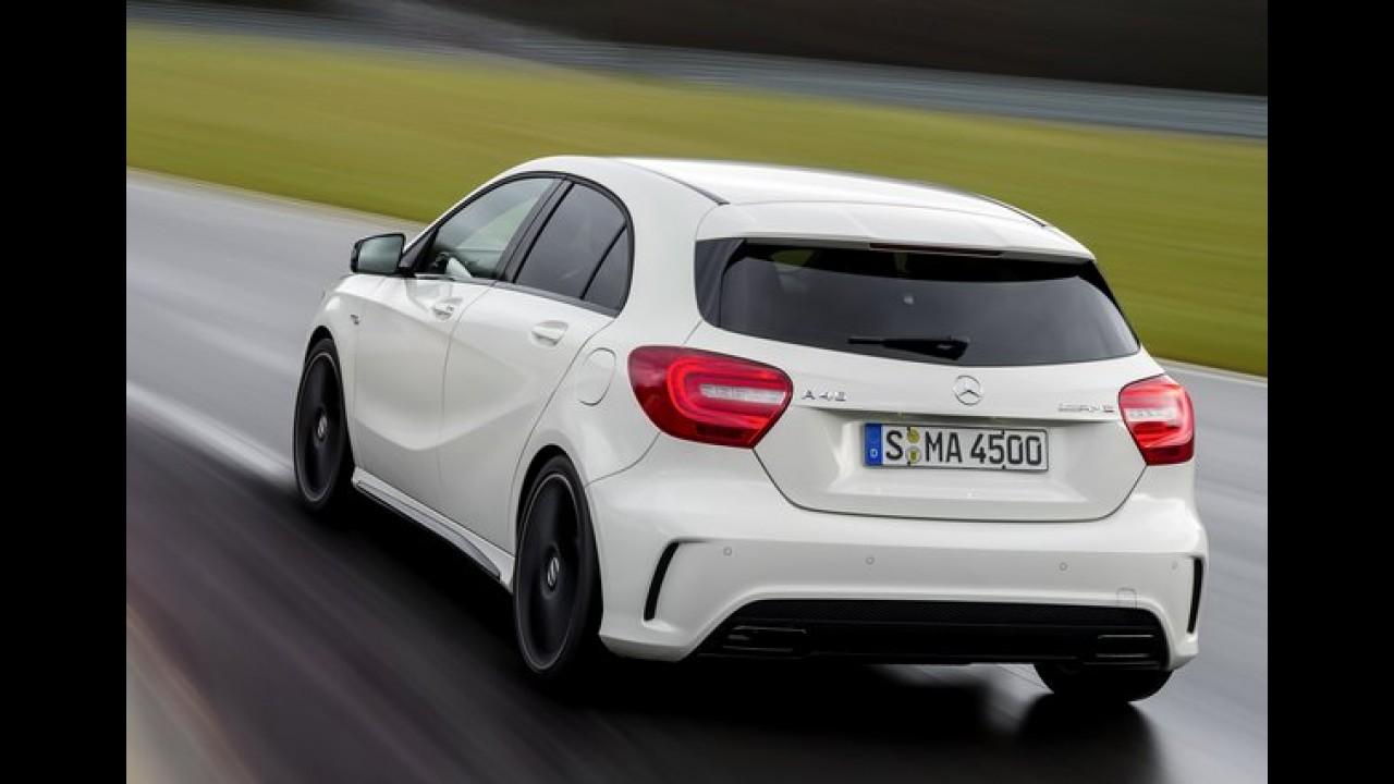 """Mercedes considerou parcerias com BMW, VW e Fiat para desenvolver nova família """"A"""""""