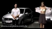 Vídeo: Mulher fica semi-nua em comercial do Fiat Siena EL 2010 - Veja o filme