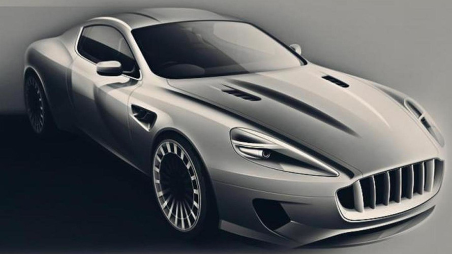 Kahn Vengeance sketches released, based on Aston Martin DB9
