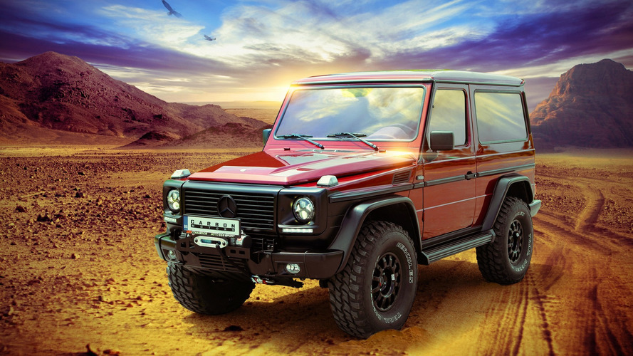Mercedes G-Class gets an interior upgrade from Carbon Motors