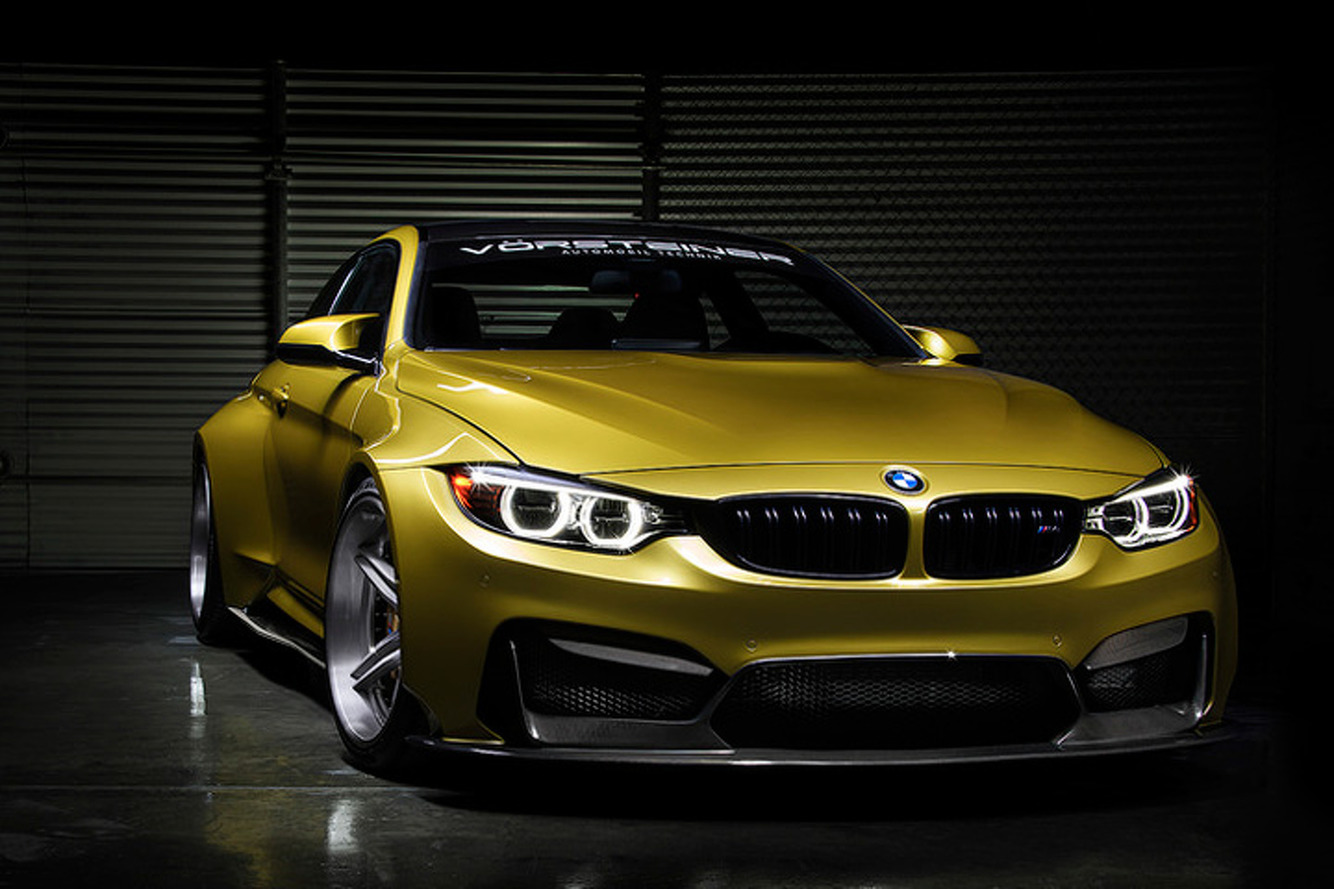 Vorsteiner Turned the BMW M4 into a 550HP Monster