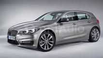 Next-generation BMW 1 Series render