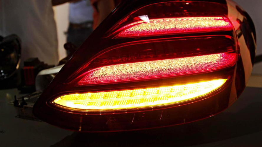 Next-gen Mercedes-Benz E-Class taillight first real photo