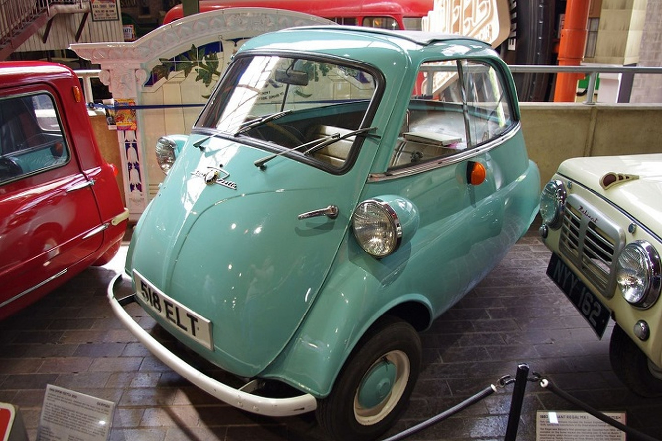 The Bubble Window BMW Isetta With a Motorcycle Engine