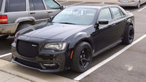 Chrysler 300 Hellcat Spy Photos