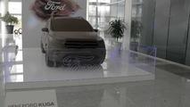Ford Kuga çikolata heykeli