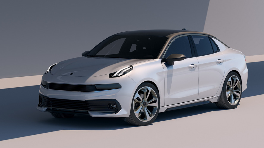 Lynk & Co 03 Saloon Debuts With Crisp Design, Volvo Underpinnings