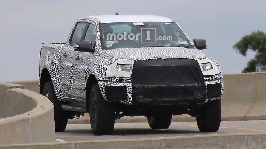 Ford Ranger Raptor Spy Pics
