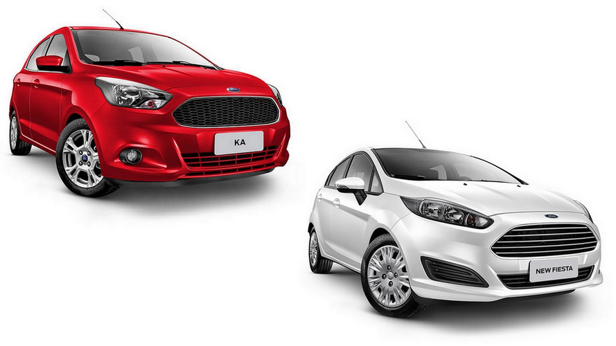 Briga em casa - Ford Ka SEL 1.5 x Fiesta SE 1.6