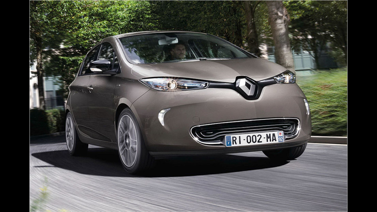 Für Elektrofans mit Reichweitenangst: Renault Zoe