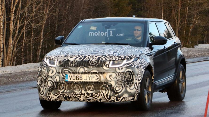 El Range Rover Evoque 2018, al descubierto