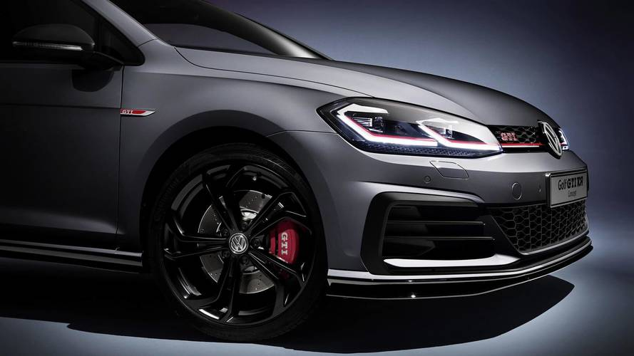 Volkswagen Golf GTI TCR debuts at Wörthersee